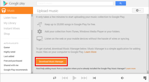 Installing Google Music Manager in Linux | Fiddler and a Geek